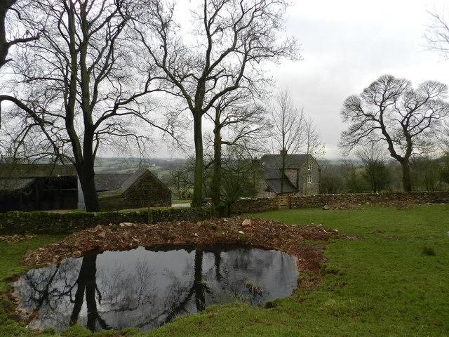 Atlow Winn, farmhouse