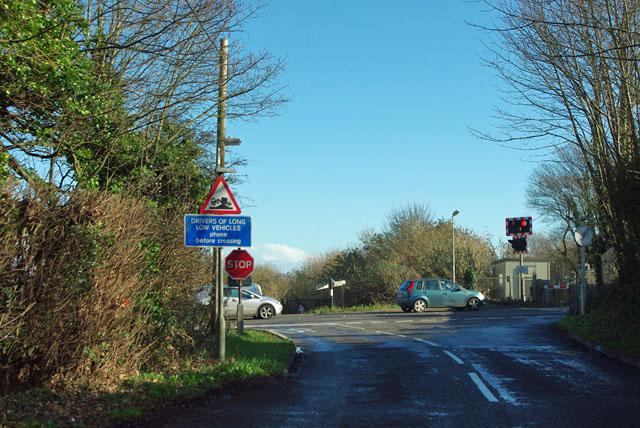 Lake Lane joins the B2132