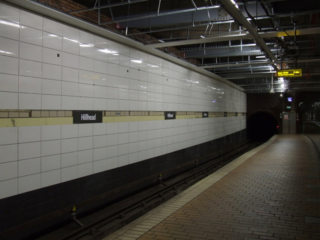 Hillhead subway station