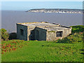 ST2958 : Brean Down - Bunker by Chris Talbot