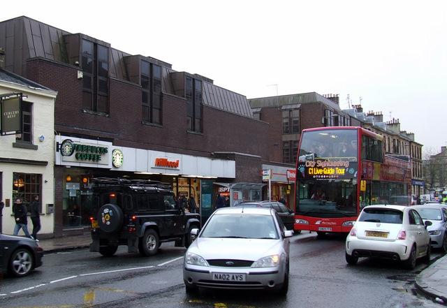 Glasgow tour bus