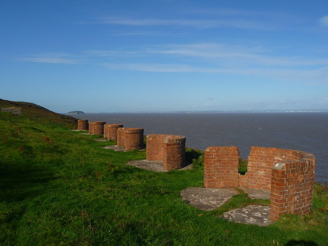 Brean Down - Coastal Battery Gun Site