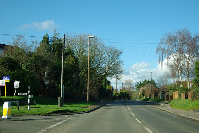 Barnham Road at Church Lane junction