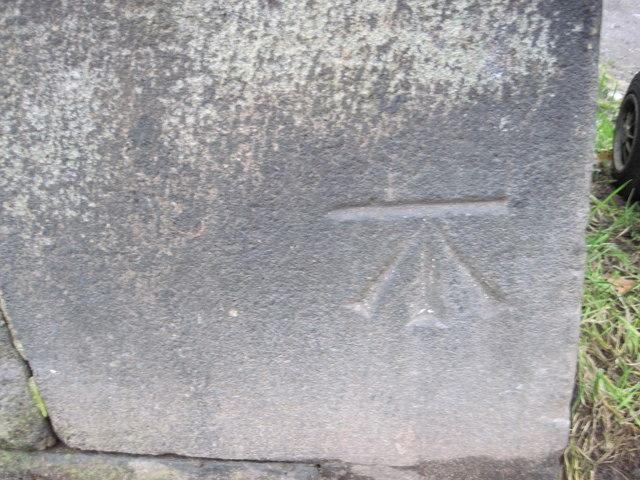 Ordnance Survey Cut Mark