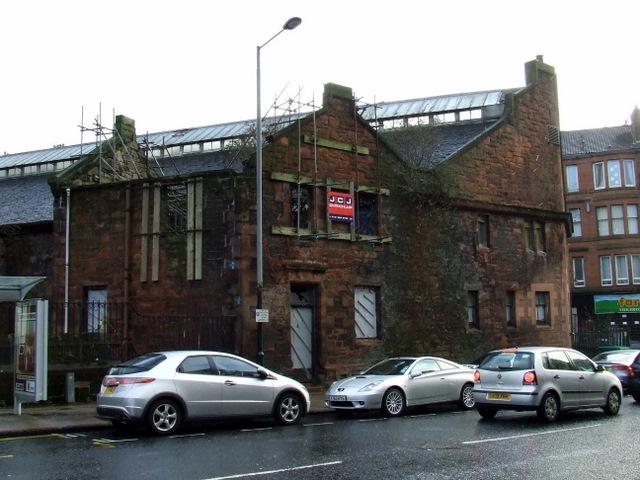 Old building on Byres Road