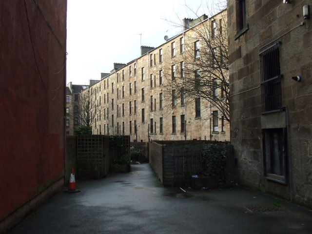 Tenements on Chancellor Street