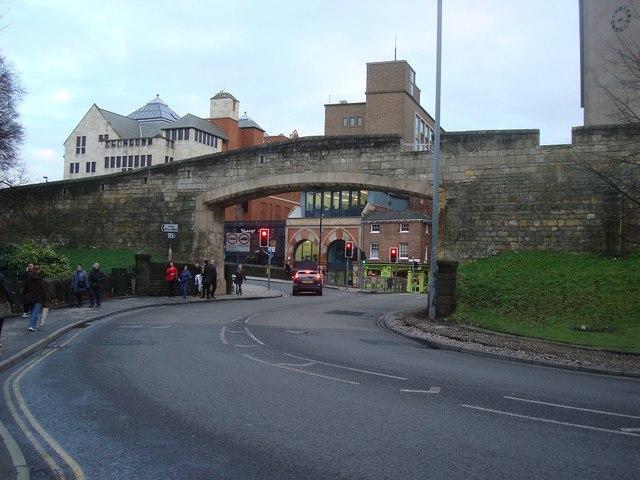 Bridge in City Wall, York