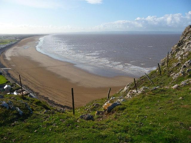 Brean Down - Berrow Flats