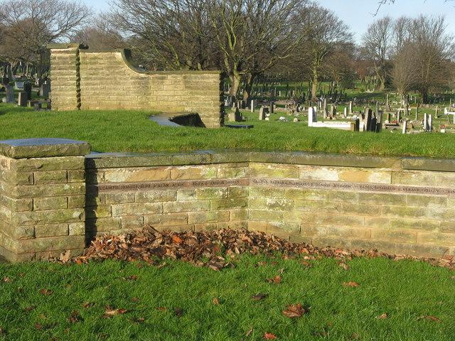 The Blitz Garden at City Road Cemetery, Sheffield