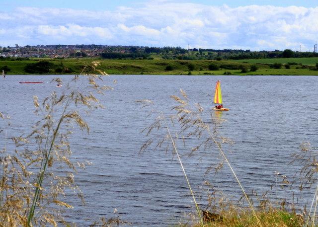 Sailing Lochore Meadows