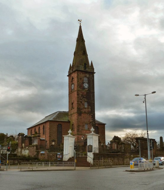 St Michael's and South Parish Church, Dumfries