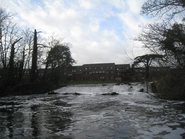Weir on the Avon