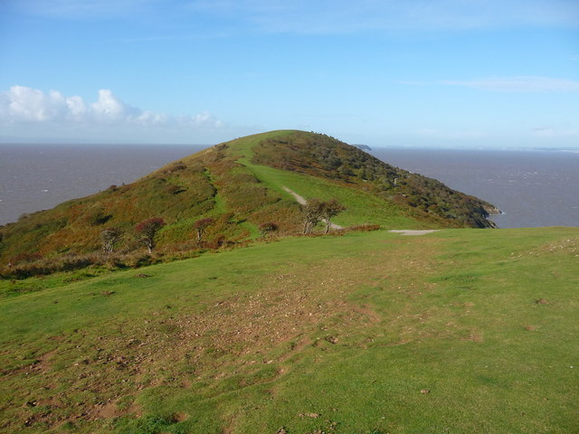 Brean Down - On Top Of The Down