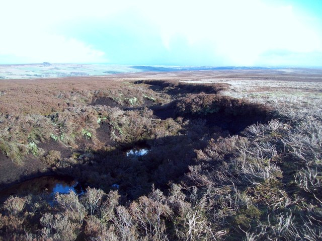 Peat Grough on Middle Moss