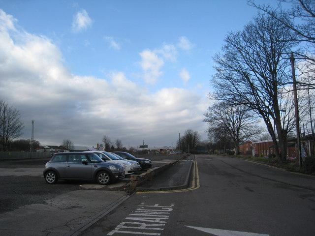The site of Leamington Spa (Avenue) station