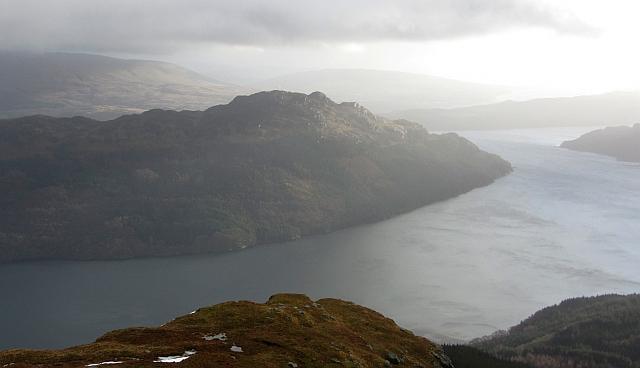 Clach Bheinn and Loch Goil