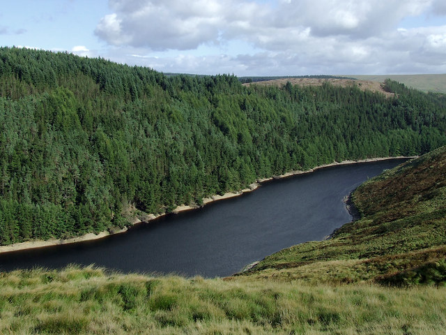 Llyn Brianne in Cwm Camddwr near Soar-y-Mynydd, Ceredigion