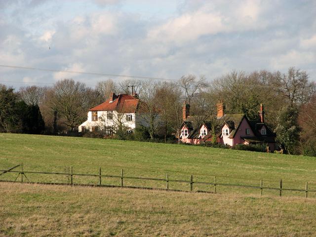 Cottages on Thorpe's Hill, Hintlesham