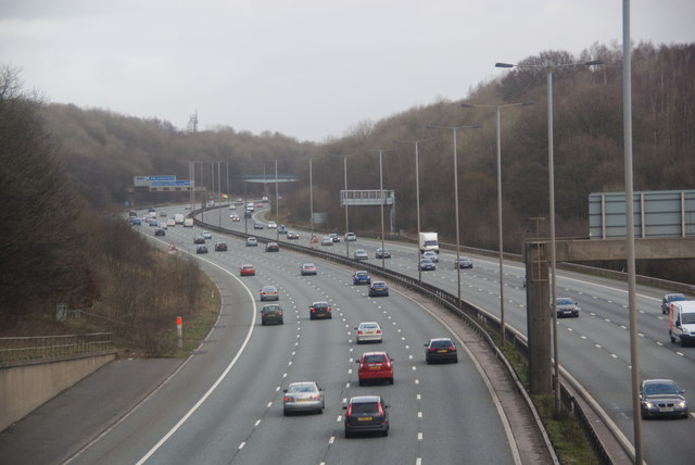 The M60 near Prestwich