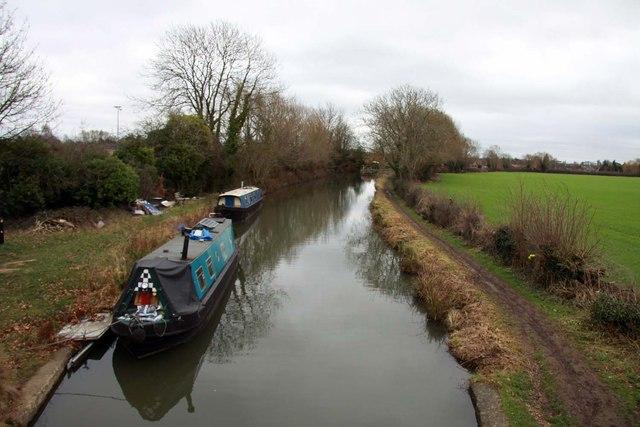 Oxford Canal from Yarnton Bridge