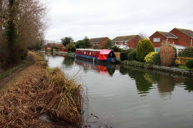 Narrowboat on the Oxford Canal