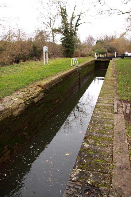 The chamber of Kidlington Green Lock