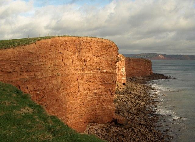 Cliffs northeast of Danger Point