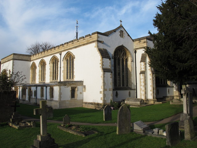 The Church of St. Mary, Church End, NW4 (2)