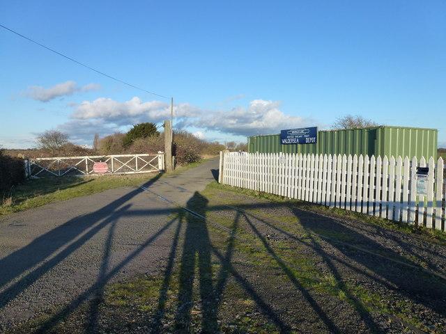 Bramley Line Waldersea Depot on Long Drove
