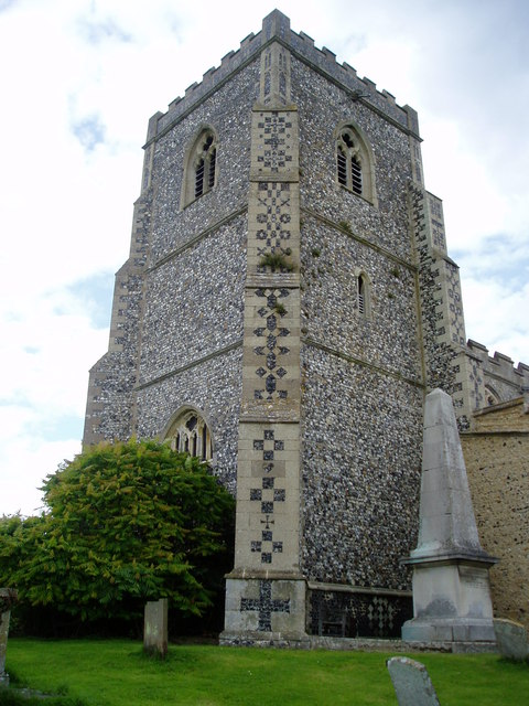 Dalham Church Tower, Suffolk