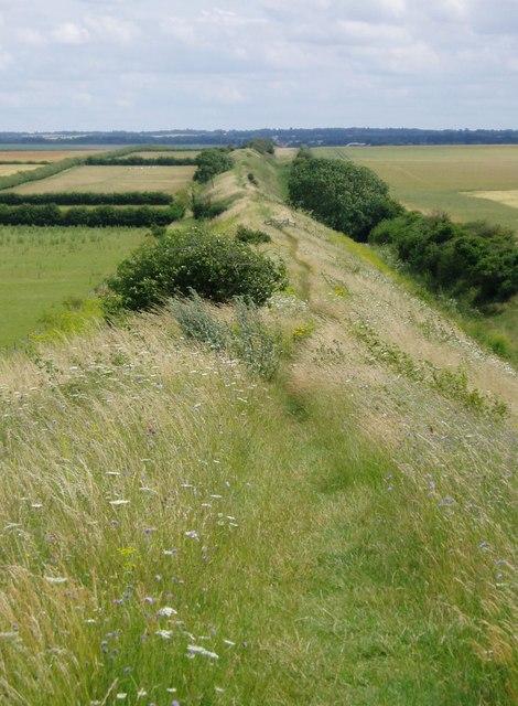 Devil's Ditch, Burwell, Cambridgeshire