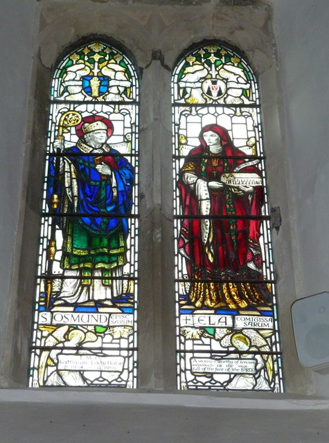 St Mary's Church, Breamore-stained glass window (7)