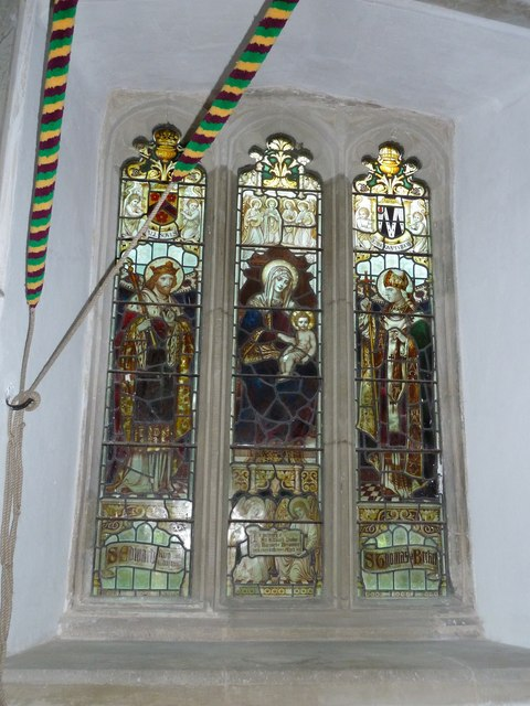 St Mary's Church, Breamore-stained glass window (9)