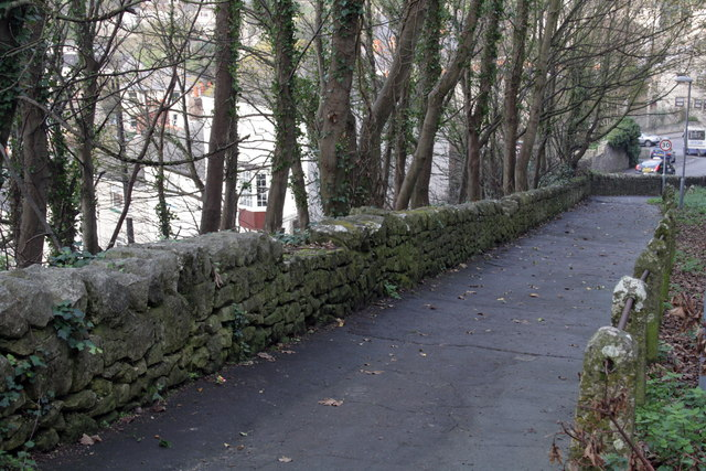 Old Hill, looking down towards New Road