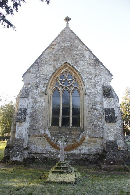 Grave by the chancel
