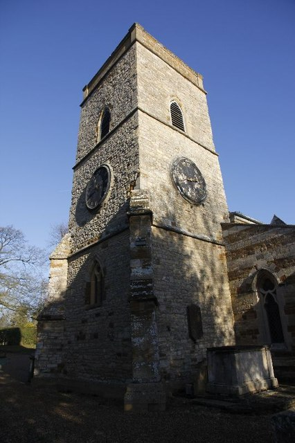The tower on St Mary Magdalene