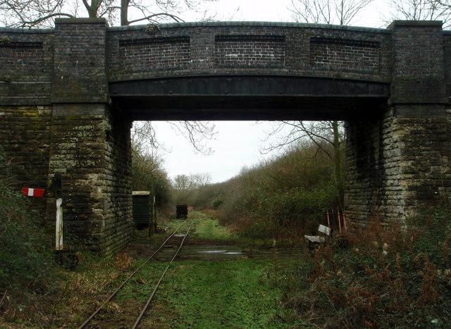 Bridge over the old railway