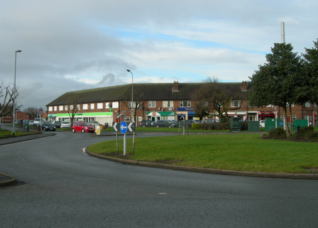 Local Shopping centre in Orford