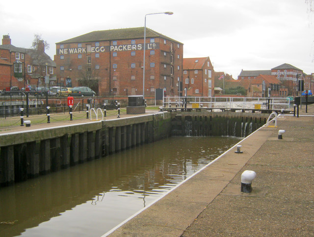 Newark Lock and old warehouses