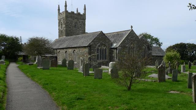 Saint Mellanus Church, Mullion, Lizard