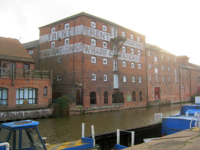 Old warehouse on the Newark Cut