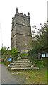 SW4538 : Saint Senara's Church Zennor by Peter Skynner
