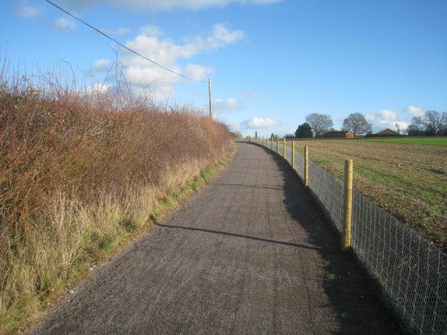 Cylepath towards Basingstoke