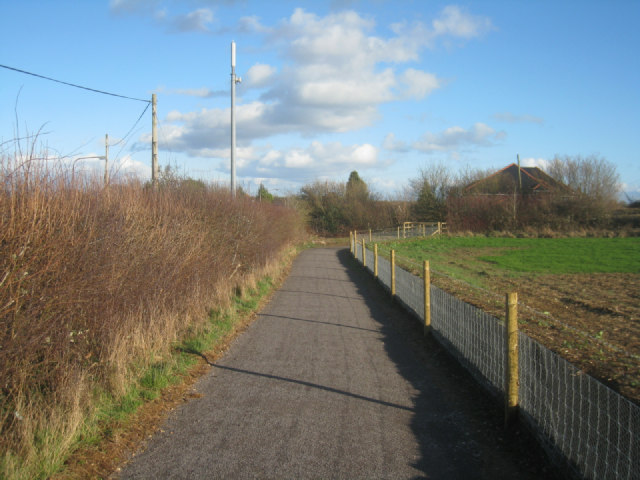Approaching Basingstoke (Kempshott)