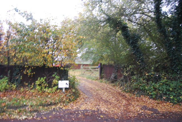 Entrance to Warren Farm