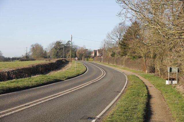 Bend into Hackleton