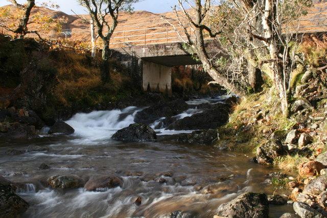 Bridge over Choire Mheall Challuim