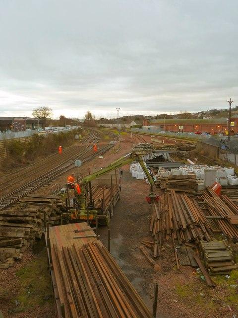 Railway at Dumfries
