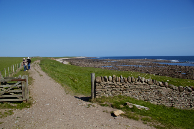 Seaward Boundary to Bible Law Holy Island