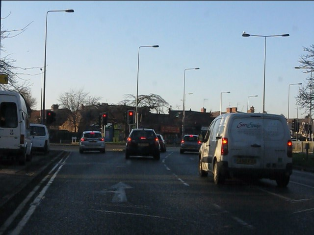 Queens Drive at Derby Lane junction